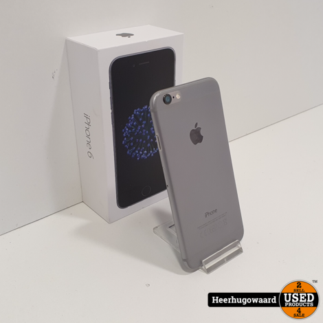 iPhone 6 32GB Space Grey in Nette Staat - Accu 88%