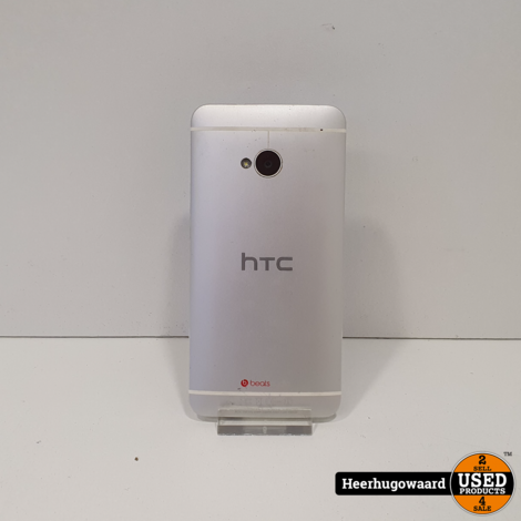 HTC One M7 32GB Grijs in Nette Staat