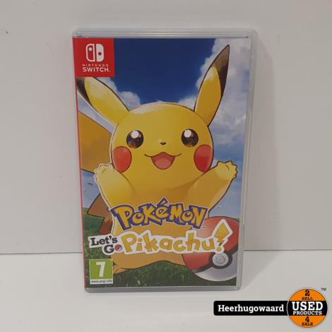 Nintendo Switch Game: Pokemon Let's Go Pikachu
