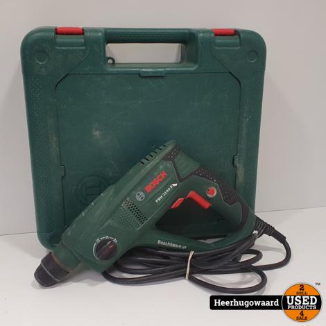 Bosch PBH 2100 RE Boorhamer in Koffer in Goede Staat