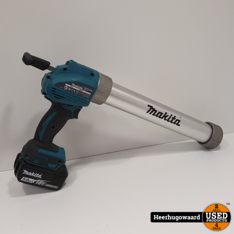 Makita DCG180RTX Accu Kitpistool 18V incl. 5Ah Accu in Mbox in Nette Staat