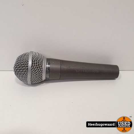 Shure SM58 Dual Impedance 50 Ohm Microfoon in Redelijke Staat