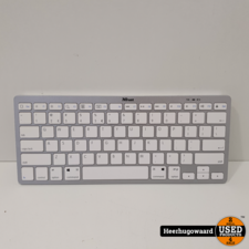 Trust Wireless Keyboard 21564-2 Wit in Nette Staat