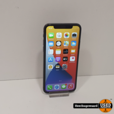 iPhone X 64GB Space Gray in Nette Staat - Accu 100%