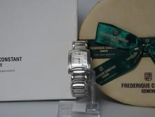 Frederique Constant Delight Carree | 10 Diamanten | Met doos + Papieren