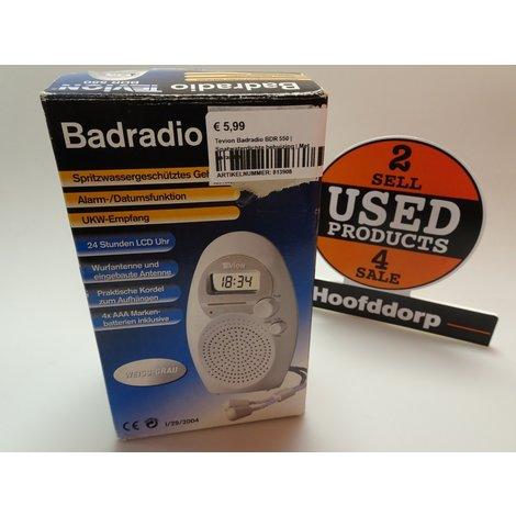 Tevion Badradio BDR 550  Spatwaterdichte behuizing