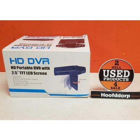 HD DVR HD Portable DVR With 2.5 Tft LCD Screen Nieuw in doos | met garantie