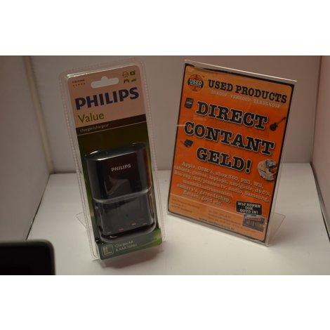 Philips Value AA Batterij lader | nieuw in doos
