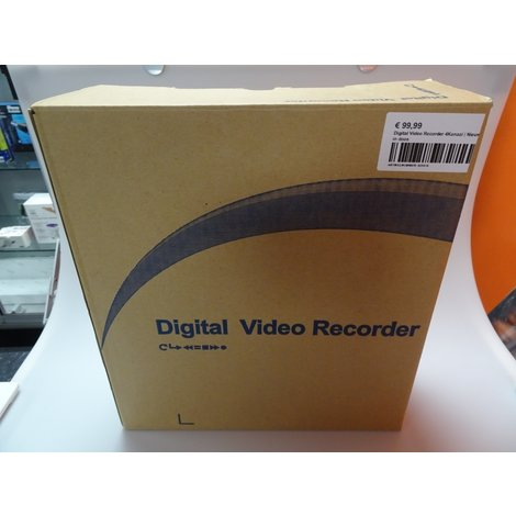 Digital Video Recorder 4Kanaal   Nieuw in doos