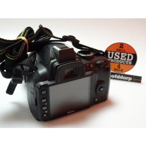 Nikon D3000 met af-s Nikor 18-55mm 1:3.5-5.6G | Met garantie