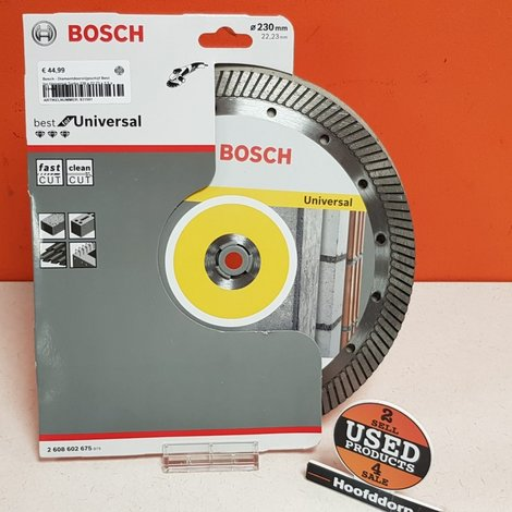 Bosch - Diamantdoorslijpschijf Best for Universal Turbo