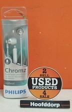 Philips Chromz headset: perfect fitting in-ear met microfoon nieuw in blister | Met garantie