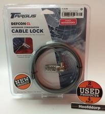Targus Defcon Cable Lock PA410E - Beveiligingskabel | Nieuw In Seal