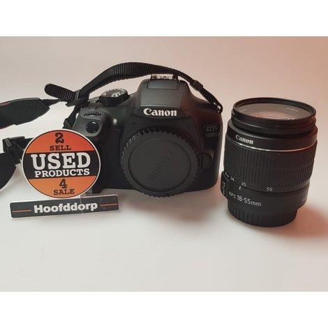 Canon EOS 1300D met 18 - 55 MM LENS in tas | Met garantie