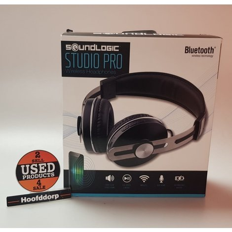 soundlogic Studio Pro Wireless headphone full device control nieuw