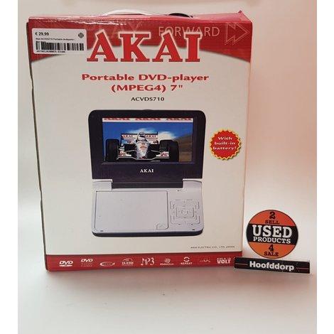 Akai ACVDS710 Portable dvdspeler | Met doos