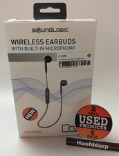 Soundlogic Wireless Earbuds met ingebouwde microfoon | Nieuw in doos