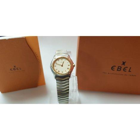 Ebel Sport Classic Wave Steel 18K Gold 26MM 1090121