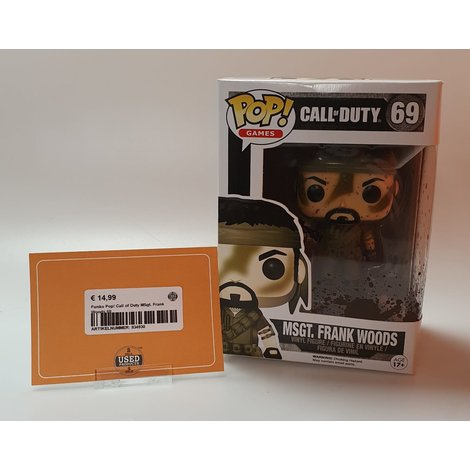 Funko Pop! Call of Duty MSgt. Frank Woods 69