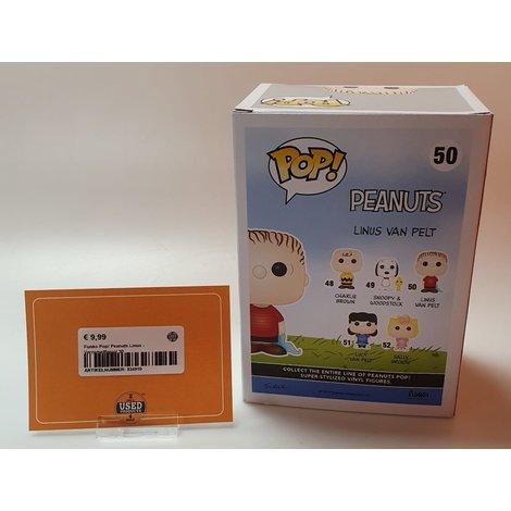 Funko Pop! Peanuts Linus - Verzamelfiguur 50