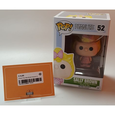 Funko! Pop Sally Brown Peanuts 52