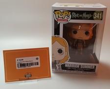 FunkoPop Rick & Morty Warrior Summer 341