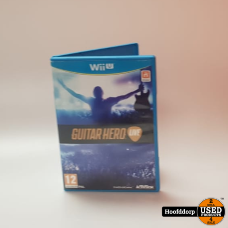 Nintendo Wii U Game : Guitar Hero Live (Game only)