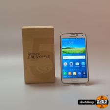 Samsung Galaxy S5 white | Gebruikt | In Doos