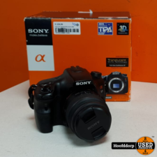 Sony A57 Spiegelreflexcamera Met SAL 18 - 55MM lens