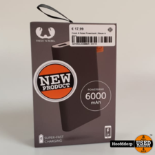 Fresh N Rebel Powerbank | Nieuw in doos