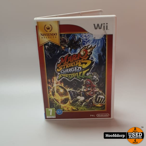 Nintendo Wii game : Mario Strikers Charged Football
