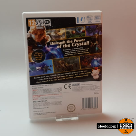 Nintendo Wii Game: Final Fantasy The Crystal Bearers