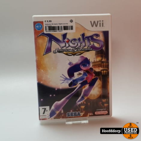Nintendo Wii Game: Nights journey of dreams