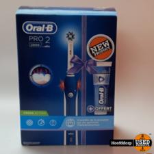 Oral-B PRO 2 2800 Elektrische Tandenborstel Powered By Braun + -Expert Tandpasta