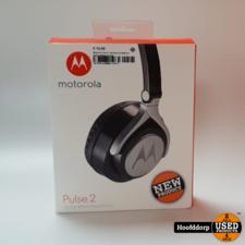 Motorola Pulse 2 Hoofdband Stereofonisch Bedraad Zwart  | Nieuw