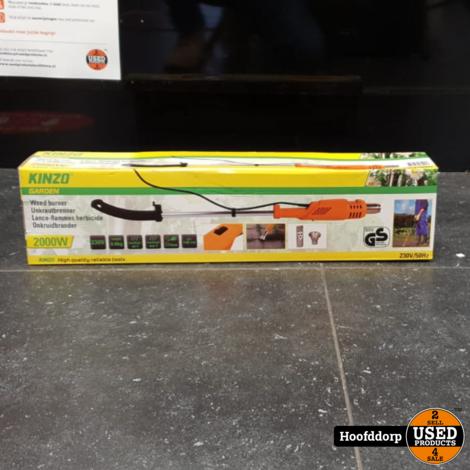 Kinzo Elektrische Onkruidbrander 2000W 230v/50Hz | Nieuw in doos