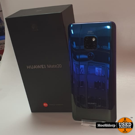 Huawei Mate 20 Twilight 128GB Dual sim | Nieuwstaat + Bon