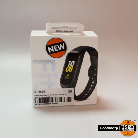 Samsung Galaxy Fit Zwart | Nieuw in Seal + Garantie Bon