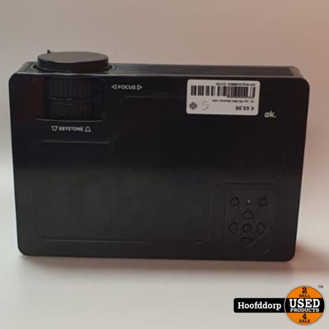 ok. opr100 Mini Beamer met afstandsbediening