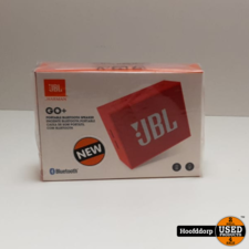JBL Go+ Rood Bluetooth Speaker | Nieuw in Seal