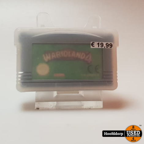 Gameboy Advance Losse casette : Warioland 4