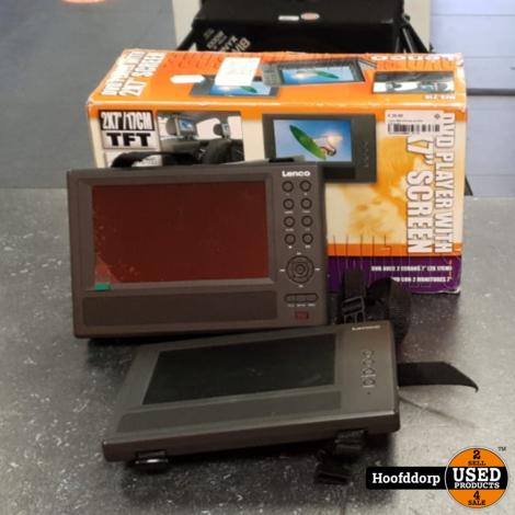 Lenco MES-210 dual portable dvd-speler