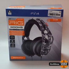 Plantronics RIG 400HS - Gaming Headset - Official Licensed - PS4 - Camo