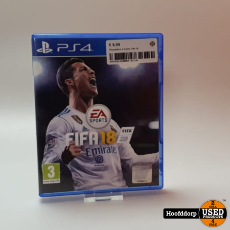 Playstation 4 Game: Fifa 18