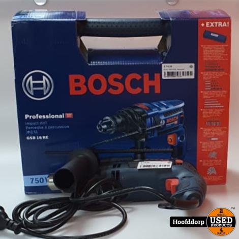 Bosch GSB 16 RE | Nieuwstaat