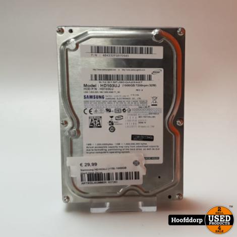 Samsung HD103UJ (1TB) 1000GB Hard Disk Drive
