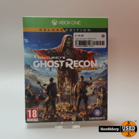 Xbox One Game: Ghost Recon Wildlands Deluxe edition