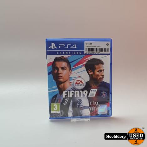 Playstation 4 Game: Fifa 19