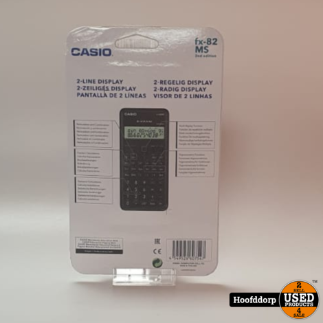 Casio fx-82 MS 2nd edition nieuw in blister