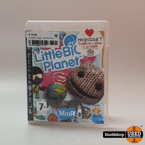 Playstation 3 game : Little Big Planet